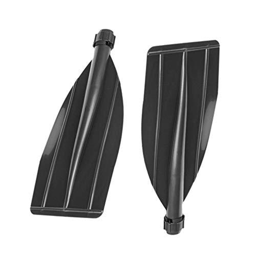 VICASKY 2 Uds Paleta de Kayak Paleta de Bote de Plástico Remo Desmontable Remo de Kayak Bote Flotante Inflable para Balsa de Remos