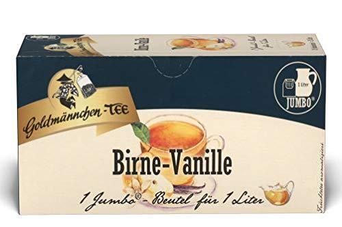 Goldmännchen-TEE JUMBO Birne-Vanille. 6er Pack