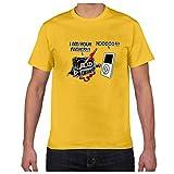 Anglewolf Herren T-Shirt Kurzarmshirt Top Print Shirt Casual Basic Rundhals World's Okayest dad...