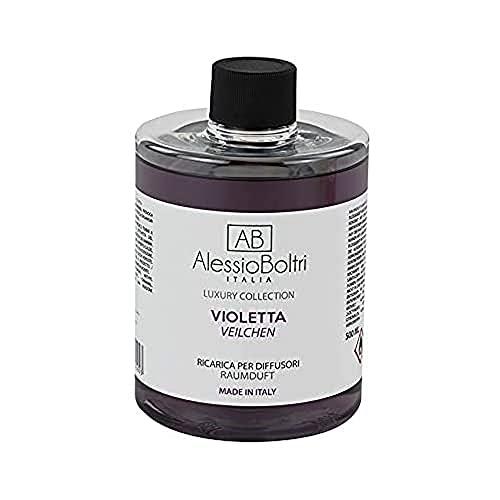 AB Alessio Boltri - Ricarica per diffusori Luxury 500 ml, profumazione Violetta