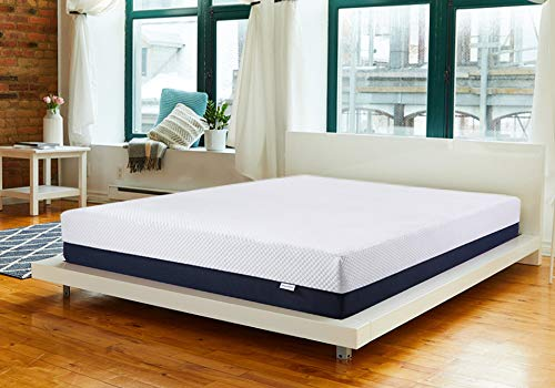 Inofia Queen Mattress 10 Inch, Ventilated Cool Gel Infused Memory Foam Mattress in a Box, More Responsive & Airflow, Pressure Relief & Full Support, Medium Firm Feel,10 Inch, Queen Size