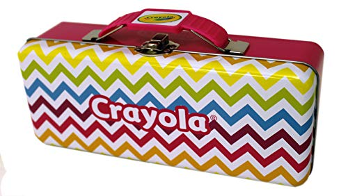 The Tin Box Company Crayola Pencil Box, Yellow