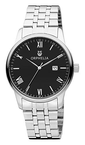 Orphelia Herren-Armbanduhr Sterling Analog Quarz Edelstahl