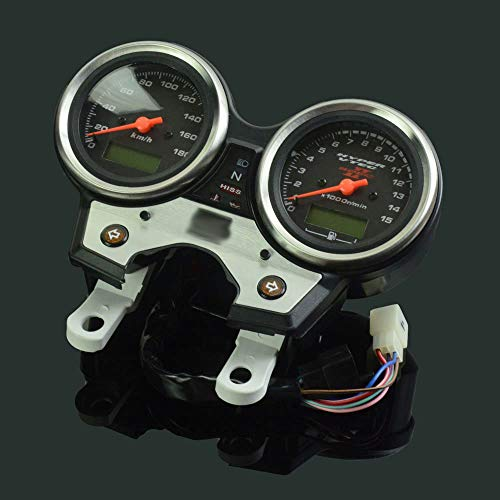 FastPro Motorrad Tachometer Kilometerzähler Instrument Tacho Gauge Cluster Meter für hondacb400 SF VTEC II 2002-2003