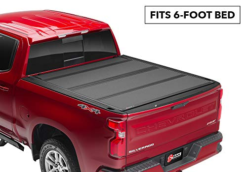 BAK BAKFlip MX4 Hard Folding Truck Bed Tonneau Cover | 448427 | Fits 2016-20 Toyota Tacoma, w/OE track system 6' Bed