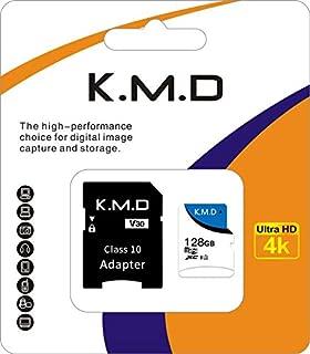 K M D microSDXC 128GB UHS-i U3 V30 4K Ultra HD アプリ最適化 A2対応 SDアダプター付(128GB)