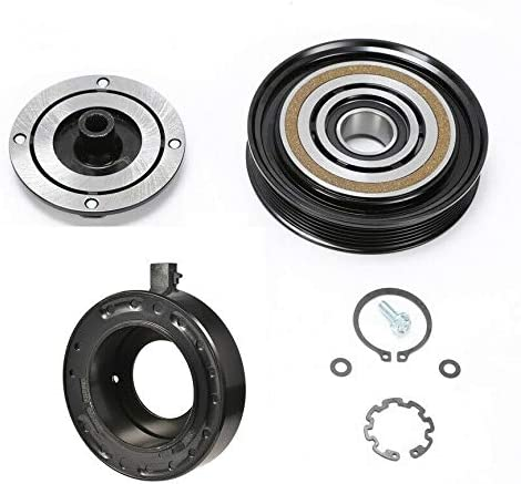 CoolTech AC Compressor Clutch Challenge the lowest price of Japan Kit ZDX Acura Max 52% OFF 2010-2013 Pulle FITS