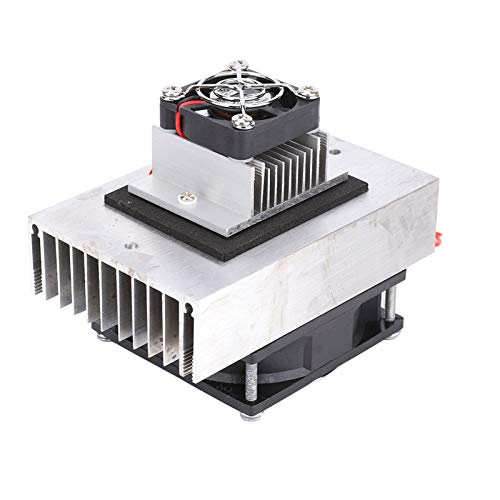 Haofy Thermoelectric Peltier Cooling System Kit, 1Pcs DC12V Semiconductor Fridge/Refrigeration Cooling System DIY Kit Mini Air Conditioner