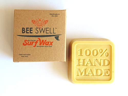Organic Handmade Surf Wax (Cold, Tropical & Base) - Ökologisches Surfwachs aus Bienenwachs (Cold Water)