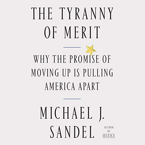 The Tyranny of Merit audiobook cover art