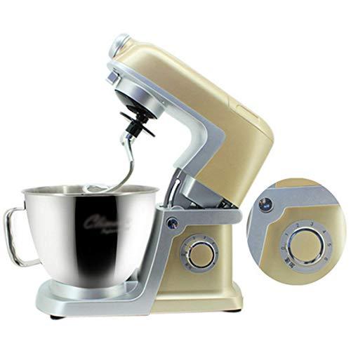 GAOLIGUO Amasadora 6L, 1500W Robot Cocina Multifuncional 6 Velocidades Mezclador de Alimentos...