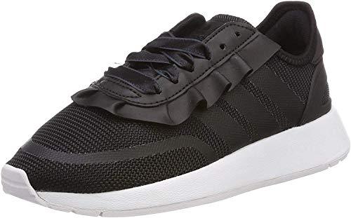 adidas Unisex-Kinder N-5923 J Gymnastikschuhe, Schwarz (Core Black/Core Black/Carbon), 38 EU (5UK)