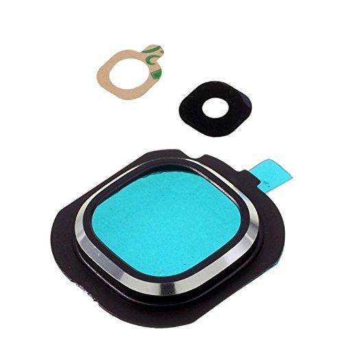 Repuesto de lente de cristal para cámara externa + marco para Samsung...