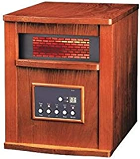 250 Sq. Ft. Electric Heater Infrared Brown