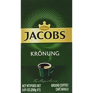 Jacobs Miscela Di Caffè Macinato Kronung - 12 Pezzi da 250 g