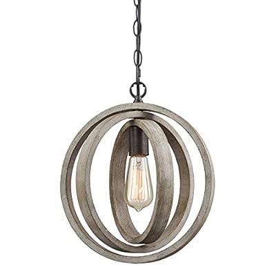 Axiland Truelite Industrial Metal Spherical Pendant Changeable Hanging Lighting Fixture