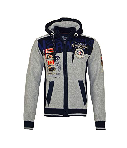 Geographical Norway GEDAY WR529H - Sudadera con capucha...