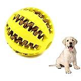 SBRTL Hundekugel Chew Toy Zahn-Reinigungs-Gummikugel Treat Kugel Lebensmittel-Dispenser Interactive...