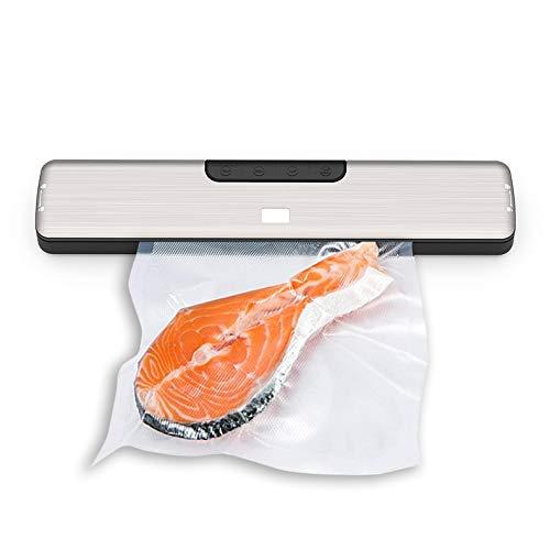 HKD Vollautomatisches Küche Vakuumiergerät mit Vakuumbeutel für trockene & feuchte Lebensmittel
