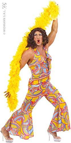 Costume Adulto 70s funky chick Taglia XL