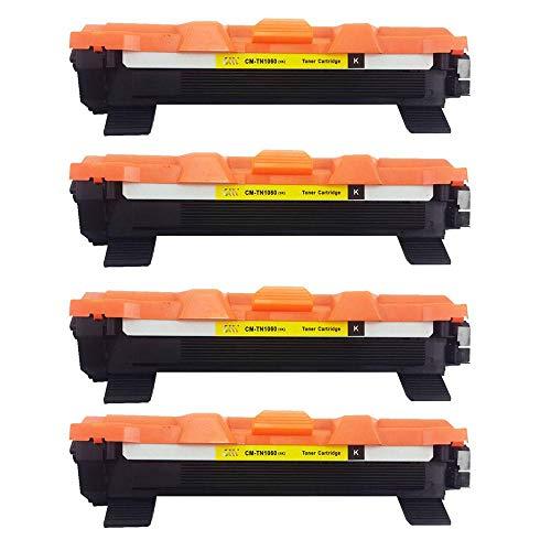 kit 04 toner compatível Brother Tn1060 Hl1112 Hl1202 Hl1212w Dcp1602 Dcp1512 Dcp1617nw