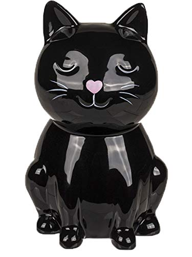 Bada Bing Spardose Katze Kätzchen Für Liebhaber Ca. 15,5 cm Schwarz Sparschwein Mit Schlüssel Zuckersüß Geschenk Trend 47 (Spardose Katze Schwarz)