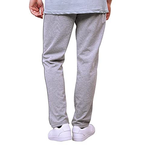 AYKA Men's Pyjama Rich Cotton_All Season_30 to 34 Waist X 40 L_Classic_Attractive Look_Grey