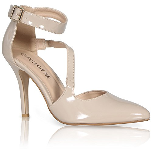 CORE COLLECTION , Damen Pumps Hautfarben - Nude Patent