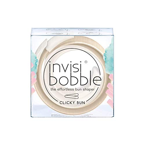invisibobble CLICKY BUN To Be Or Nude To Be, Haarknoten ohne Donut
