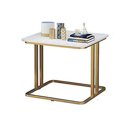 Tavolino Nordico, Tavolino Quadrato, Scrivania in Ferro Battuto, Soggiorno/Camera da Letto/Balcone Tavolo da Pranzo, Tavolo da Studio, Tavolo per Laptop, Comodino