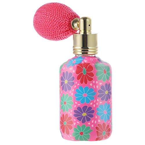 MILISTEN Botella de Perfume Vintage Spray Recargable 15 Ml Envase Cosmético de Vidrio...