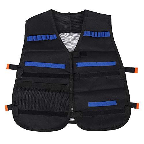 Alomejor Airsoft Vest Chaleco de Entrenamiento para niños Juego al Aire Libre Chaleco Militar para niños Niños Chicas Juego al Aire Libre