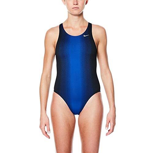 Nike Swim Fade Sting Fast Back Badeanzug Damen Game royal Größe US 34   DE 38 2019 Schwimmanzug