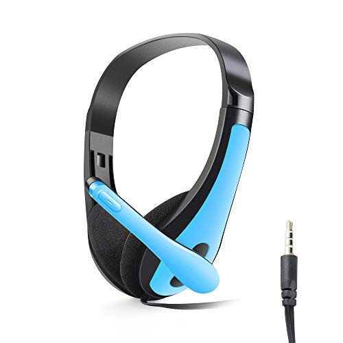 Amazing Deal Bass for PC Computer Phone Stereo Noise Cancelling Microphone Headset Headset 3.5mm Hea...