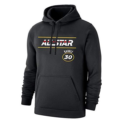 LXZ Randle Knicks # 30 Camiseta de Baloncesto, Camisa de Baloncesto Deportivo para Hombre 2021 Juego de Estrellas Nuevo Malla Nueva Transpirable Secado rápido Fans Balon XXL