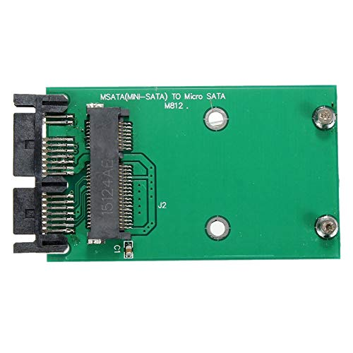 Fauge PCI-E MSATA SSD una 1.8 Pulgadas Micro-SATA Adaptador Convertidor Tarjeta MóDulo...