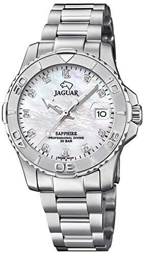 Reloj Jaguar de Acero de señora. Professional Diving 20 Bar. J870/1