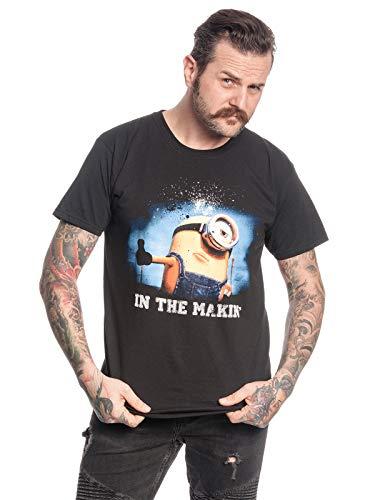MINIONS In The Making Männer T-Shirt schwarz XXL, 100% Baumwolle, Fan-Merch, Film, TV-Serien