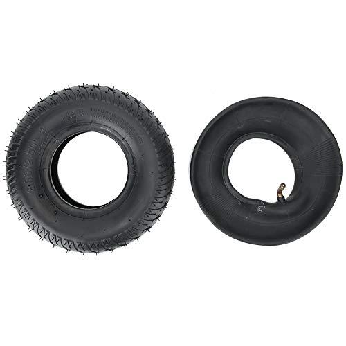 Wosune 2.80/2.50-4 Neumático, Tubo Interior de Scooter de Movilidad, Silla de Ruedas...
