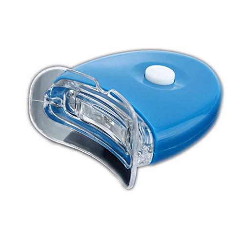 WSZOK Led de blanqueamiento de los dientes de la luz rápida eficaz blanqueamiento dental led acelerador de luz no sensible profesional dientes 5 led