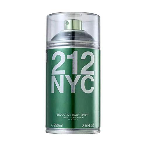 Carolina Herrera 212 NYC Seductive - Body Spray Feminino 250ml, Carolina Herrera