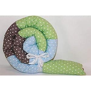 Bettrolle 200 cm JUNIA-SHOP.de 2 m Nestchen Bettschlange Bettschnecke Lagerungsrolle Baby Geburt Taufe Geschenk