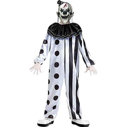 FunWorld Bambino Killer Clown Costume: Grande (12-14Anni)