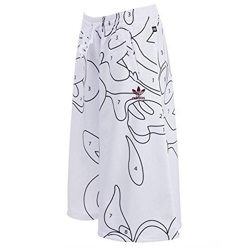 adidas Pantalones Holgados Rita Ora Mujer, otoño/Invierno, Mujer, Color Blanco, tamaño 36