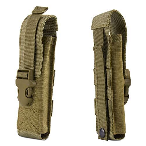 Xidan Taktische Taschenlampe Tasche, Molle EDC Organizer Tasche EMT Mini Scissor Werkzeug Tasche