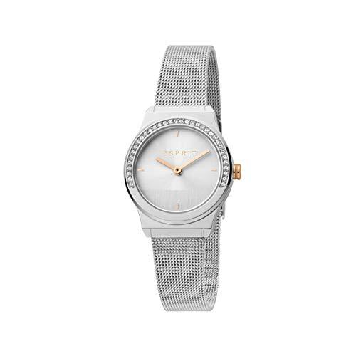Esprit ES1L091M0045 Magnolia Mini Stones Uhr Damenuhr 5 bar Analog Silber