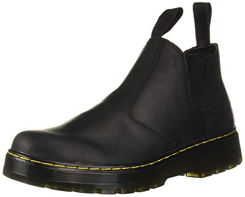 Dr. Martens Men's Hardie Chelsea Boot, Black, 8 Regular UK (9 US)