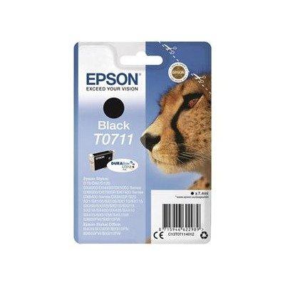 Epson T0711 Cartouche d'encre noire pour Epson T0711 Noir cartrid ge TO711