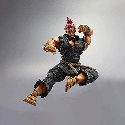 Cheaaff LULUDP Anime Modelo Escultura de Anime Street Fighter IV: Akuma Action PVC Estatua Figura de acción - Alto 8 66 Pulgadas