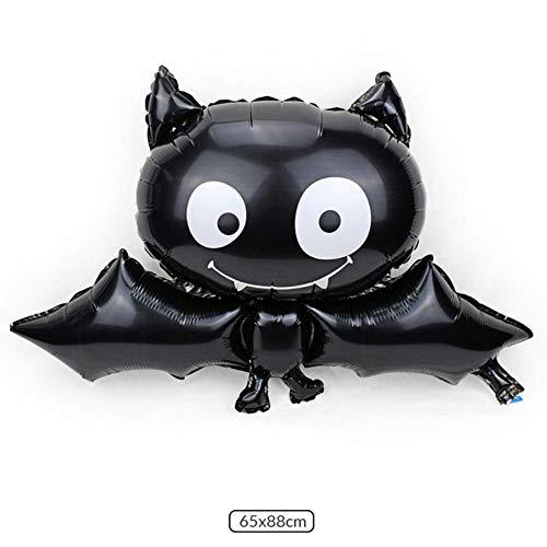 CTOBB Glücklicher Halloween-Fahnenlatex steigt Halloween-Parteidekorationgeburtstags-Babyparty-Partei-Versorgungsmaterial-Kürbisballonquaste im Ballon auf, Farbe, 13